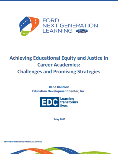 The Next Educational Equity >> Achieving Educational Equity And Justice In Career Academies